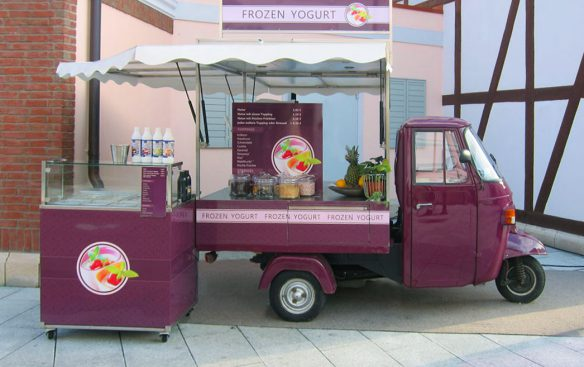 Frozen Yogurt - Oldtimer